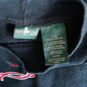 Vintage Sweaters - Vintage Hunt Club Sport Crest Logo Sweatshirt